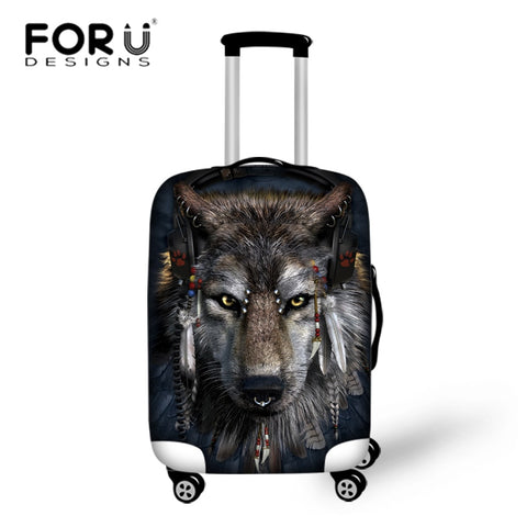 Wolf Luggage Cover - Premium Wolf Store