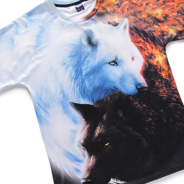 Two Wolf Brothers Shirt - Premium Wolf Store