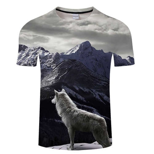 Shirt Wolf Mountains - Premium Wolf Store