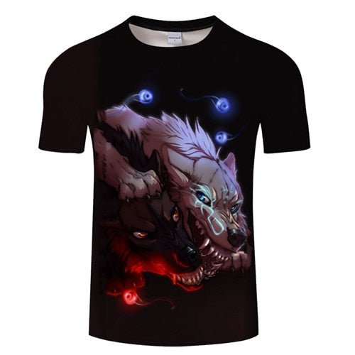 Wolf shirts (large selection) - Premium Wolf Store