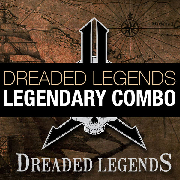 2019 Dreaded Legends - Legendary COMBO Package (with FREE GRILLZ Goggles)