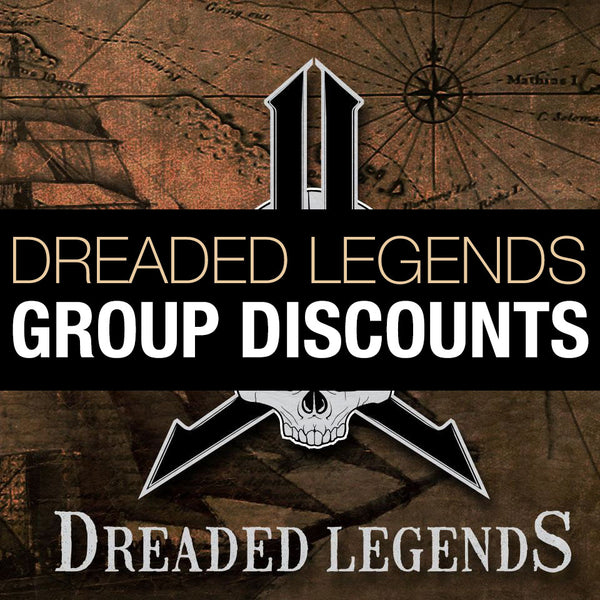 2021 Dreaded Legends GROUP DISCOUNT Multiplayer Package Tickets