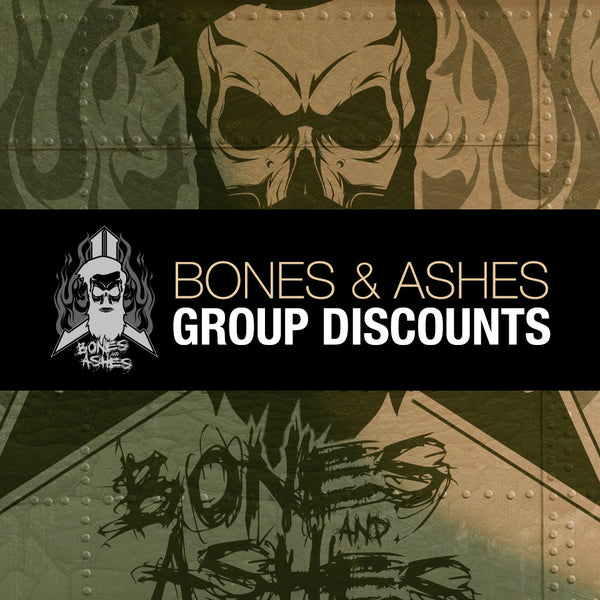 2019 Bones n Ashes GROUP DISCOUNT Multiplayer Package Tickets