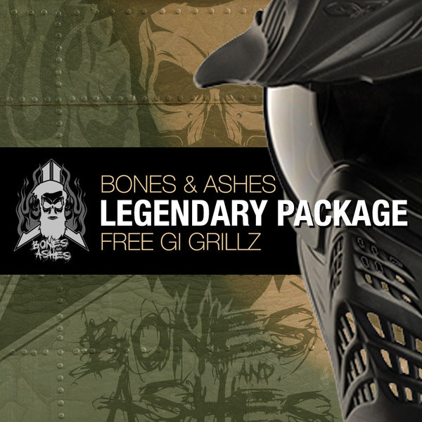 2020 Bones n Ashes - Legendary COMBO Package (with FREE GRILLZ Goggles)