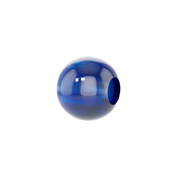 PHIIISH 8MM BLUE AGATE CHARM