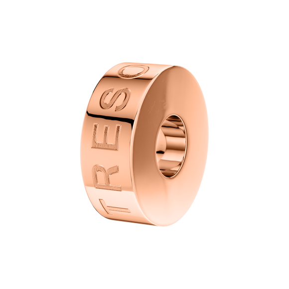 Phiiish Stopper in Premium 18k Rose Gold Plated Stainless Steel