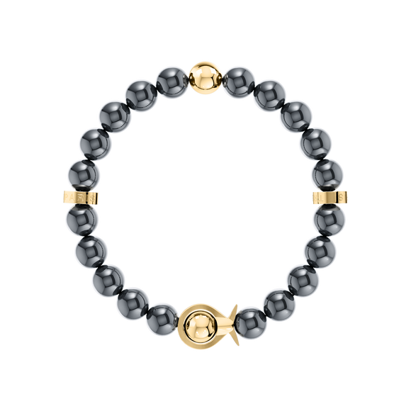 Phiiish Ladies Magnetite Bracelet in Premium Yellow Gold Stainless Steel (L316)
