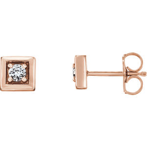 1/8 CTW Diamond Earrings