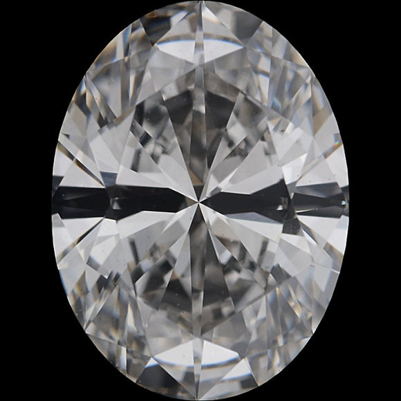 1CT Oval Certified  Serialized Lab-grown Diamond