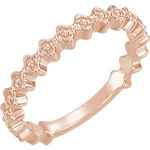 Clover Stackable Ring