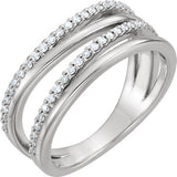 14K 1/4 CTW Diamond Ring