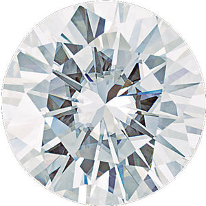 6.5 mm Round Charles & Colvard Forever One Moissanite