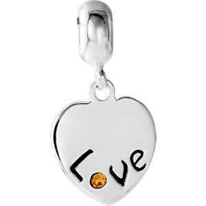 Kera Love Heart Charm