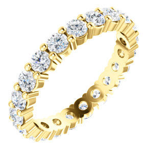 Eternity Band Charles & Colvard Moissanite®