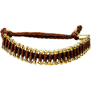 Brown Heart U Back™ Friendship Bracelet