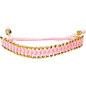 Pink Heart U Back™ Friendship Bracelet