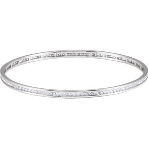 Diamond Stackable Bangle Bracelet