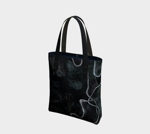 Canvas Tote - Abstract - Black - Daily Art Fixx