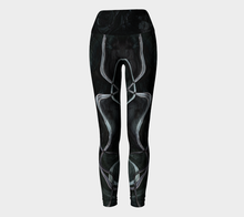 Yoga Leggings - Vajra - Black - Daily Art Fixx
