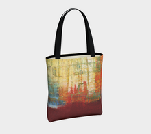 Canvas Tote - Red Grunge - Daily Art Fixx