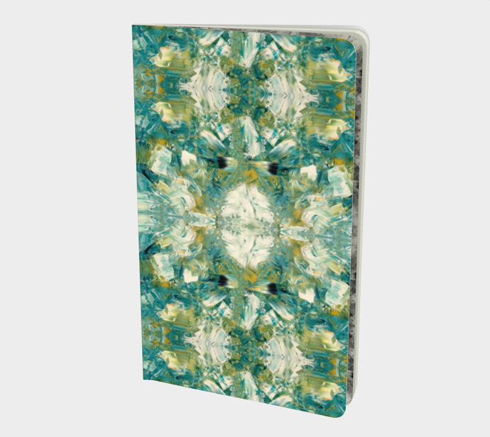 Notebook - Small - Abstract Attack - Green