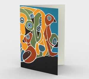 Greeting Card - Arc (Set of 3) - Daily Art Fixx