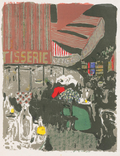 Edouard Vuillard - Paysages et Interieurs - La Patisserie - The Pastry Shop - original color lithograph