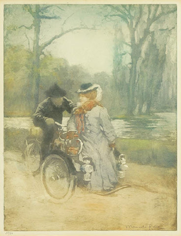 Manuel Robbe - Au Bois en Tricycle - In a Forest on a Tandem II