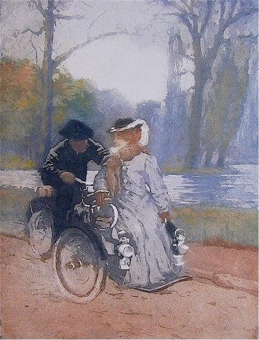 Manuel Robbe - Au Bois en Tricycle - In a Forest on a Tandem