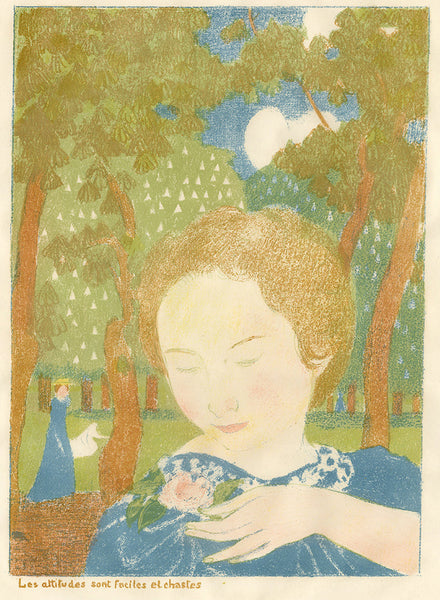 Maurice Denis - Amour - Les attitudes sont faciles et chastes - Attitudes are easy and chaste