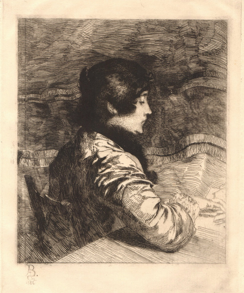 Portrait of the Artist's Wife by Albert Besnard