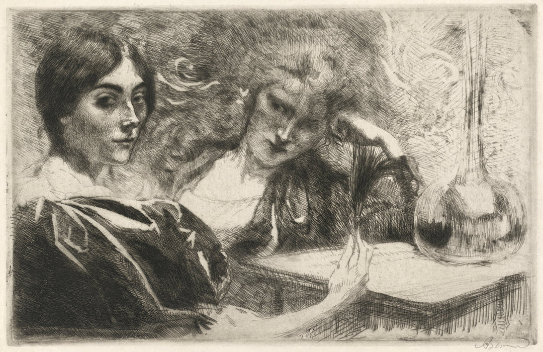 Albert Besnard: Morphinomanes, Le Plumet, addiction