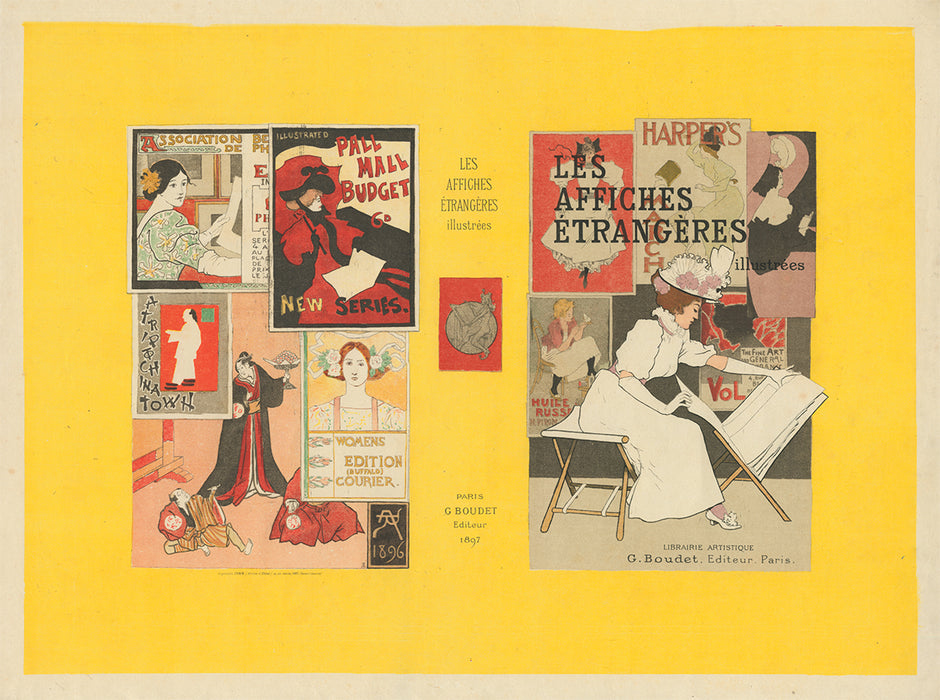 Armand Rassenfosse - Foreign Illustrated Posters - main