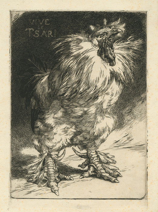 Felix Bracquemond - The Gallic Rooster - main