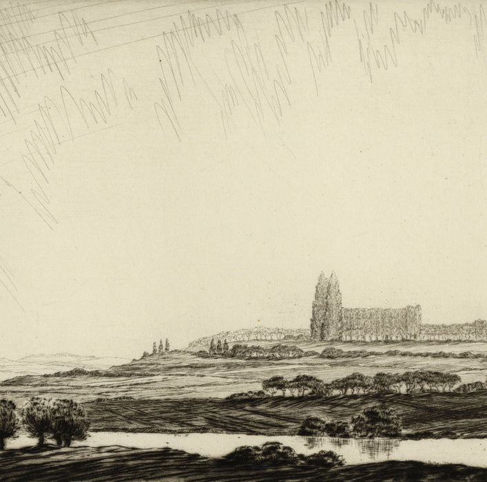 Gerald Geerlings - Cathedrale Naturelle - Natural Catherdral - drypoint Czestochowski 10