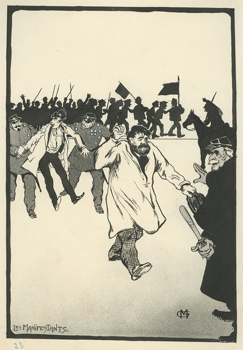 Gustave Marie - The Protesters - main