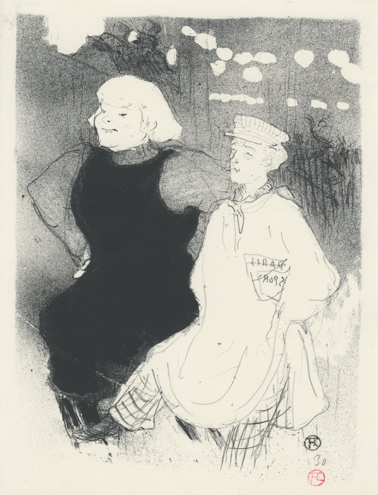 Henri de Toulouse-lautrec - At the Moulin-Rouge: The Franco-Russian Alliance - main