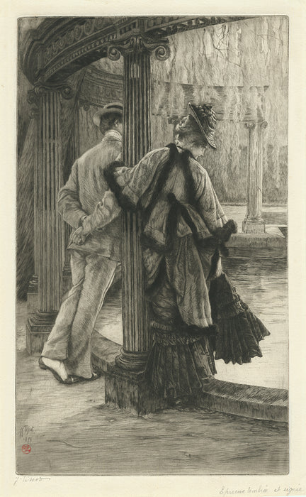 James Tissot - Quarrelling - main