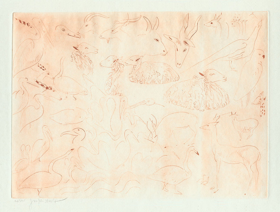 Joseph Hecht - Sketches of Animals for Noah's Ark - main