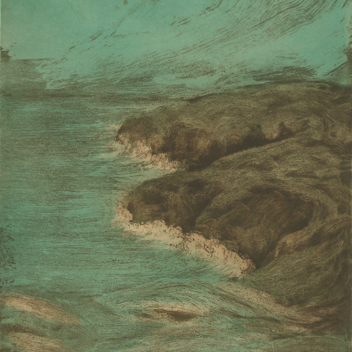 Aquatint and etching - by JOURDAIN, Francis - titled: The Wave