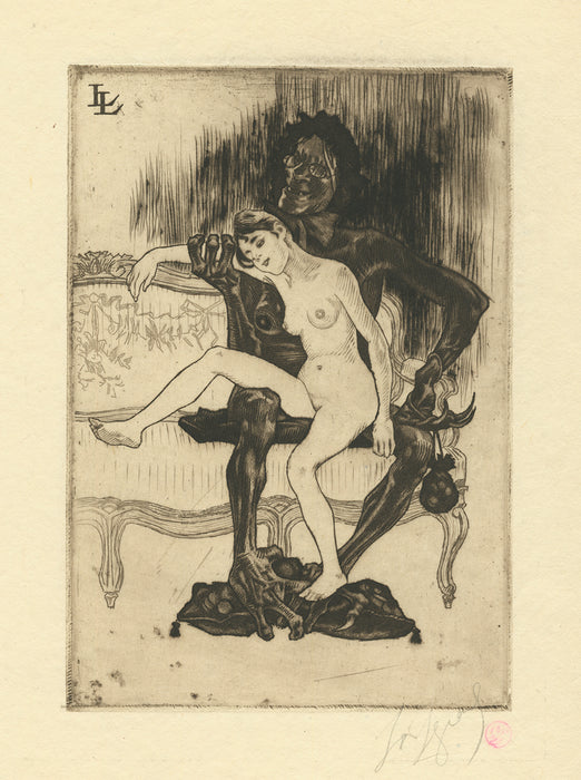Louis Legrand - Prostitution - main