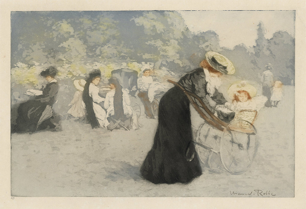 Manuel Robbe - The Tuileries Gardens - main