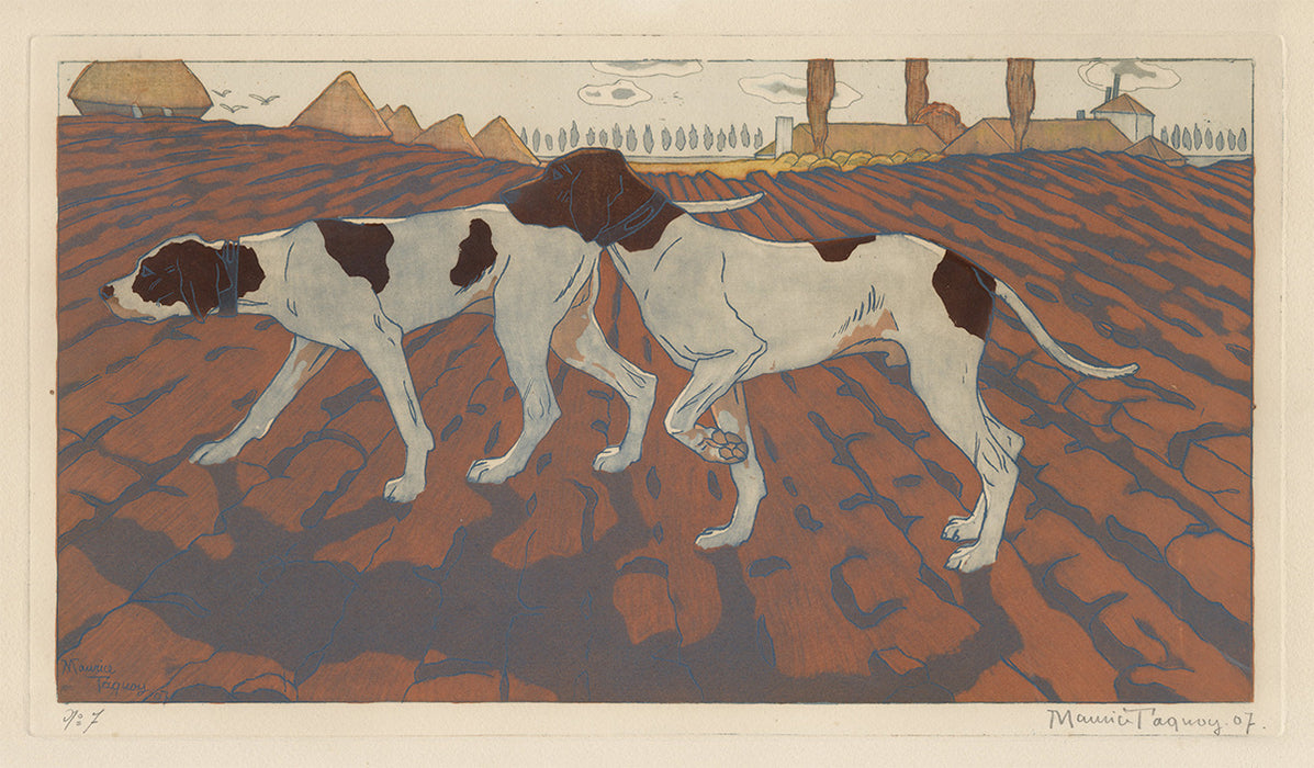 Maurice Taquoy - Pointer Dogs - main