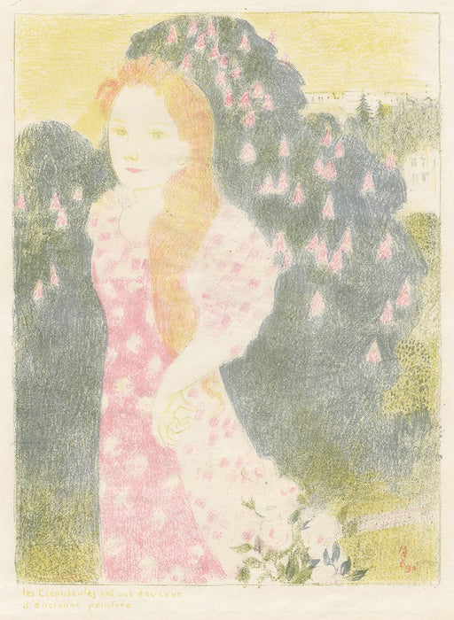 Maurice Denis - Dusk has the Sweetness of Old Painting - main