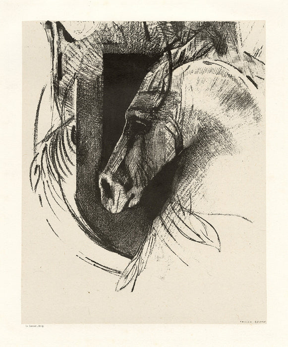 Odilon Redon - The Race Horse - The Charger - main