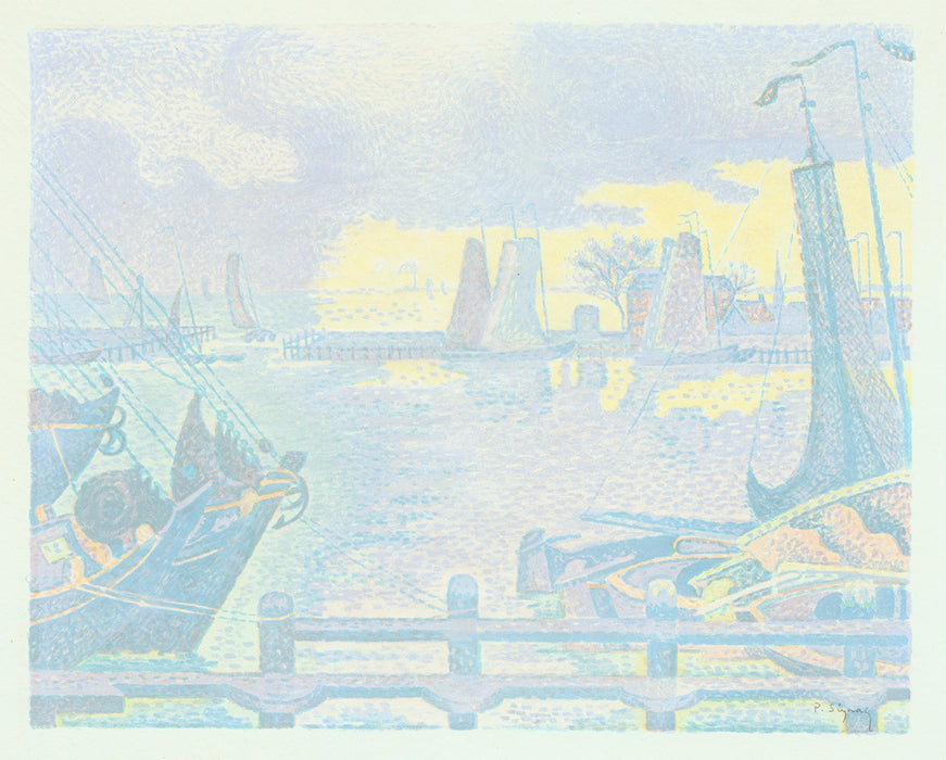 Paul Signac - Boats in Vlissingen - main