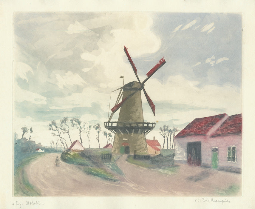 Victor-Joseph Roux-champion - The Windmill - main