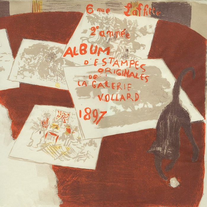 Color lithograph - by BONNARD, Pierre - titled: Album of Original Prints of the Vollard Gallery