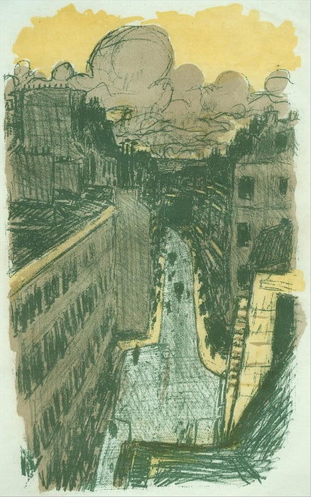 Pierre Bonnard - Street from Above - main