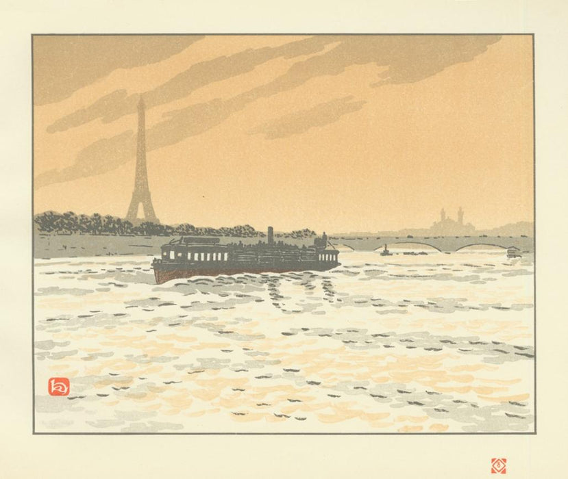 Henri Riviere - From the Quai de la Conférence - main